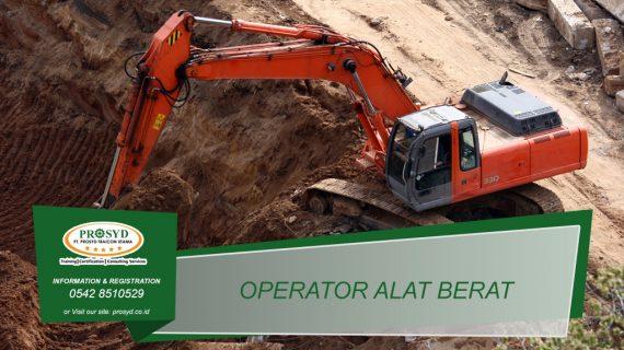 Training K3 Operator Alat Berat