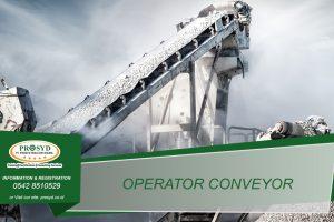 Training K3 Operator Pita Transport (Conveyor) Balikpapan samarinda makassar bontang pontianak palangkaraya banjarmasin berau tarakan batu kajang sorowako sangatta