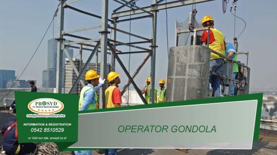 Training K3 Operator Gondola, Dongkrak Mekanik, Takel, Mesin Pancang
