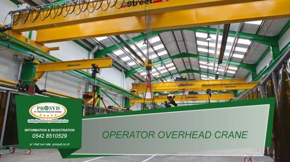Training K3 Operator Overhead Crane