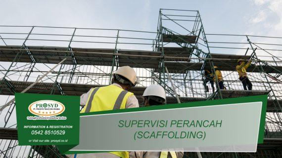 Training K3 Supervisi Perancah (Scaffolding)