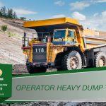 Training Operator Dump Truck