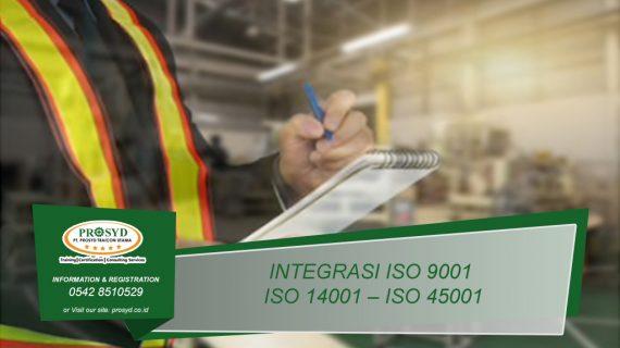 Training Integrasi ISO 9001 – ISO 14001 – ISO 45001