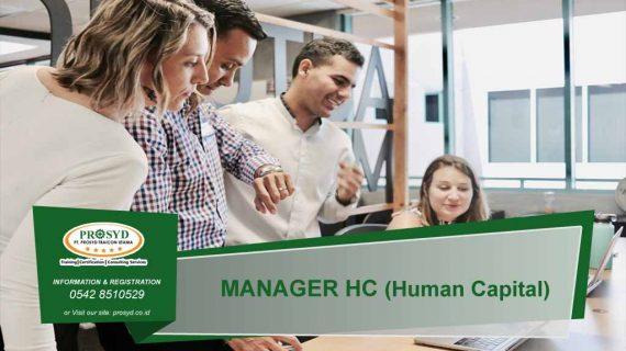 MANAGER HC (Human Capital)