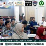 Diklat dan Uji Kompetensi Ahli K3 Muda BNSP di Samarinda