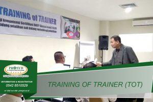 Training TOT (Train of Trainer) Level 3 Balikpapan samarinda makassar bontang pontianak palangkaraya banjarmasin berau tarakan batu kajang sorowako sangatta