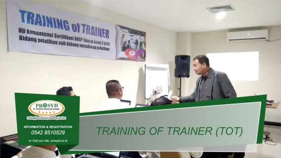 Training TOT (Train of Trainer) Level 3