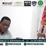 Diklat dan Sertifikasi Kompetensi BNSP Staff HR / HRD di Balikpapan