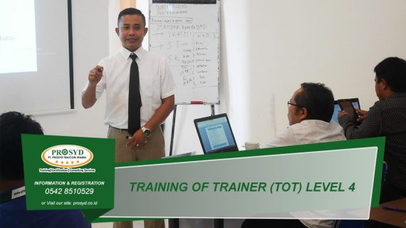 Training TOT (Train of Trainer) Level 4