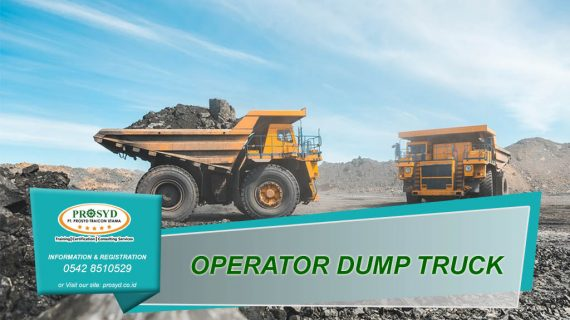 Operator Dump Truck Promo 2021